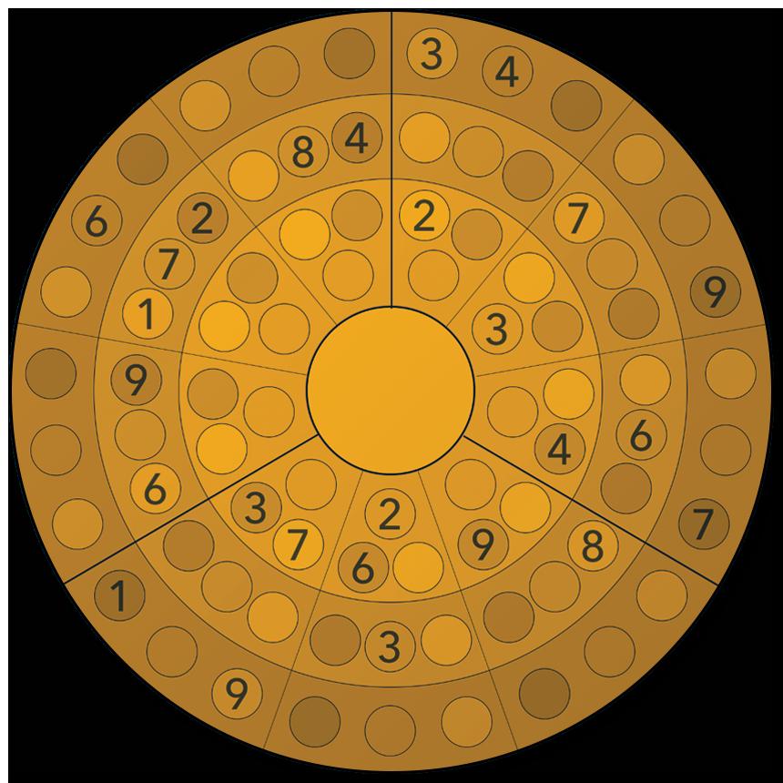 roundoku - the better sudoku